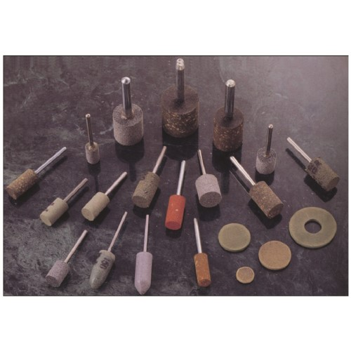 Abrasive Rubber Points - Green
